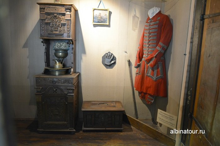 Фото Вид спальни внутри в музеи СПб
