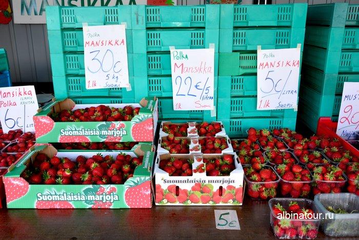 Фото Стоимость клубники по 30 евро за 5 килограммов или 5 евро за литр