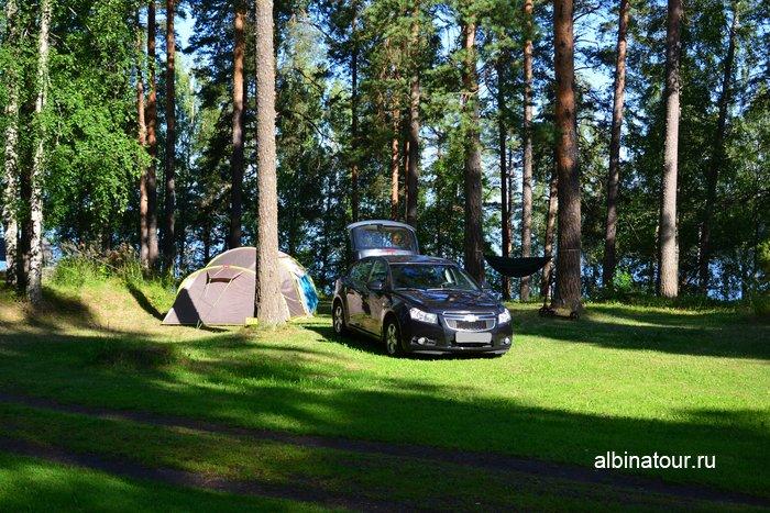Фото определившись с местом и разбив палатку в Хухтинием | Huhtiniemi camping в Лаппеенранте