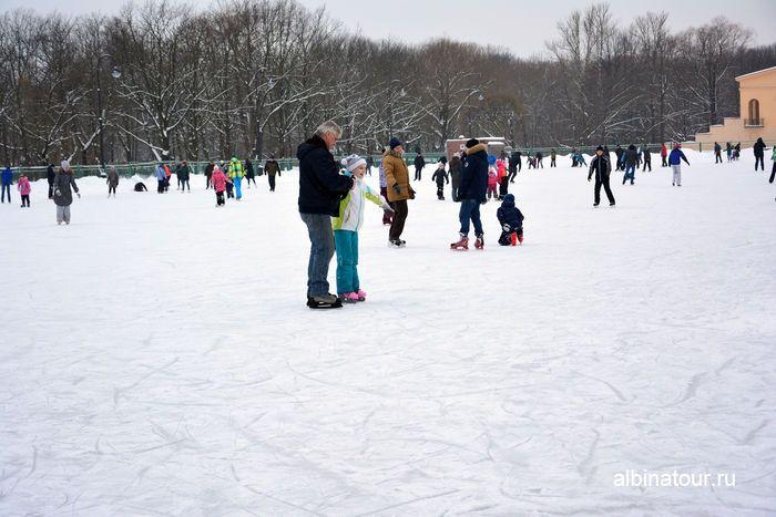 Каток в парке Победы Санкт Петербург