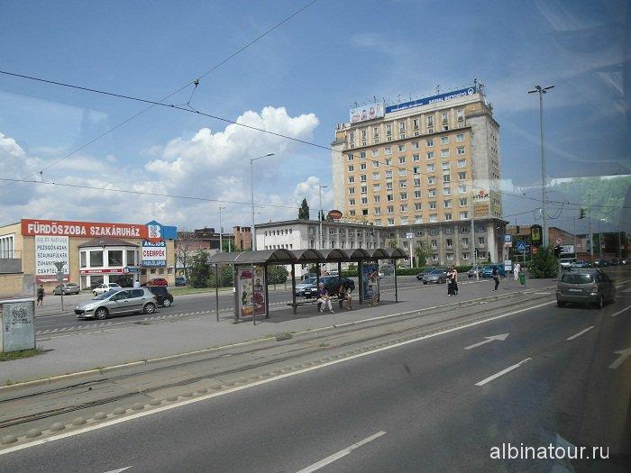 Будапешт дорога из аэропорта.
