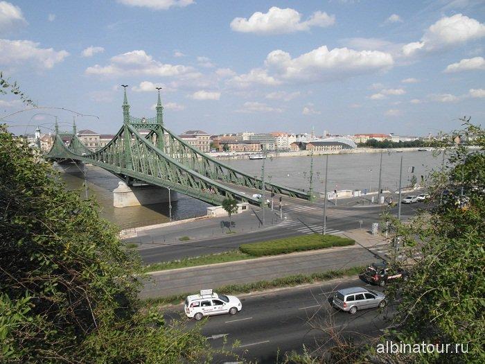 Венгрия Будапешт мост Свободы.