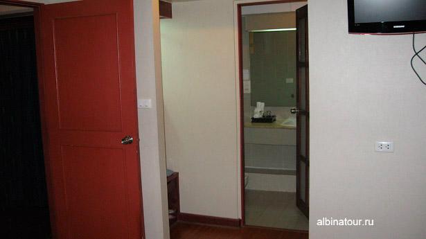 Бангкок отель Baiyoke Suite туалетная комната