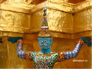 Таиланд Бангкок большой дворец