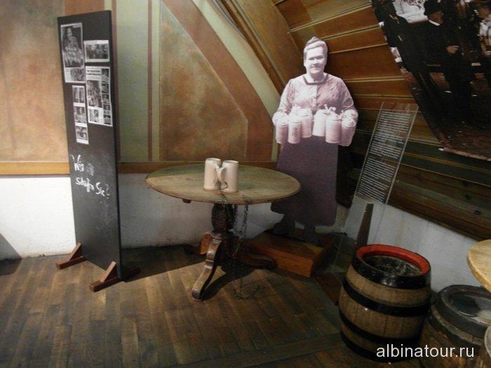 Бавария экспонаты музея пивного ресторана Хофбройхаус / Hofbräuhaus Мюнхен