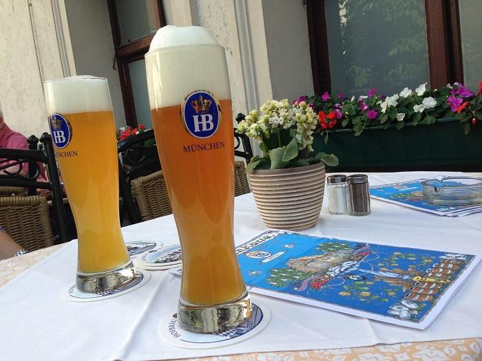 Германия  Мюнхен на фото красиво, на вкус отлично