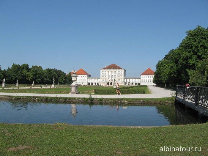 Германия замок  Нимфенбург Мюнхен