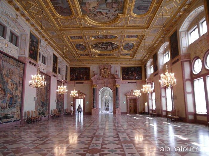 Германия Императорский зал Резиденция Мюнхен