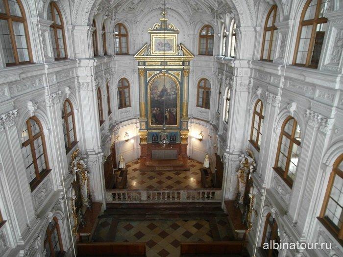 Германия придворная часовня Резиденция Мюнхен