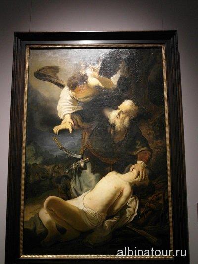 Германия картина Жертвоприношение Авраамом Исаака