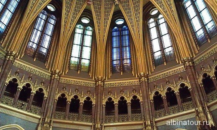 Будапешт Интерьер Венгерского парламента 2