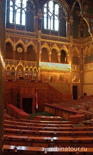 Будапешт Интерьер Венгерского парламента 5
