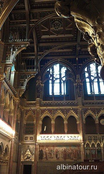 Будапешт Интерьер Венгерского парламента 7
