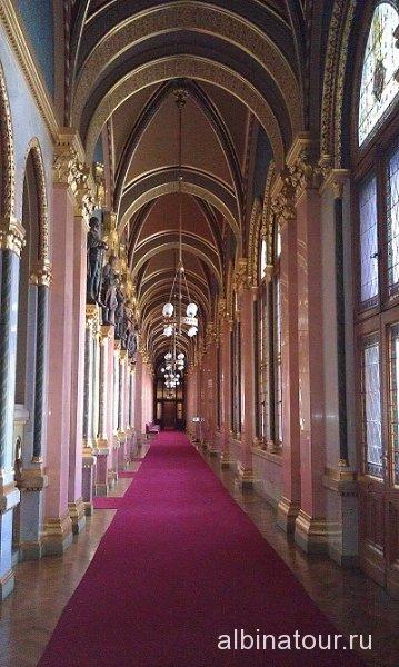 Будапешт Интерьер Венгерского парламента -8