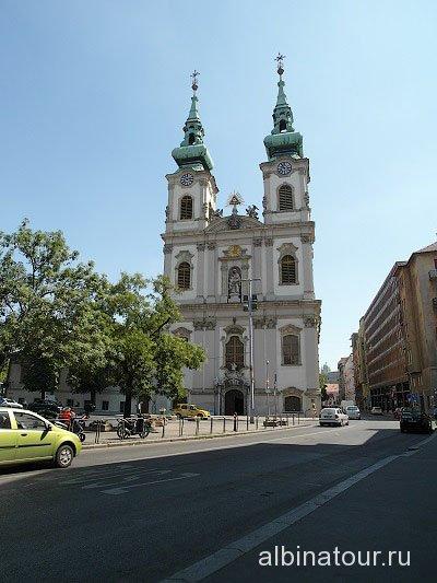 Венгрия Будапешт церковь Святой Анны
