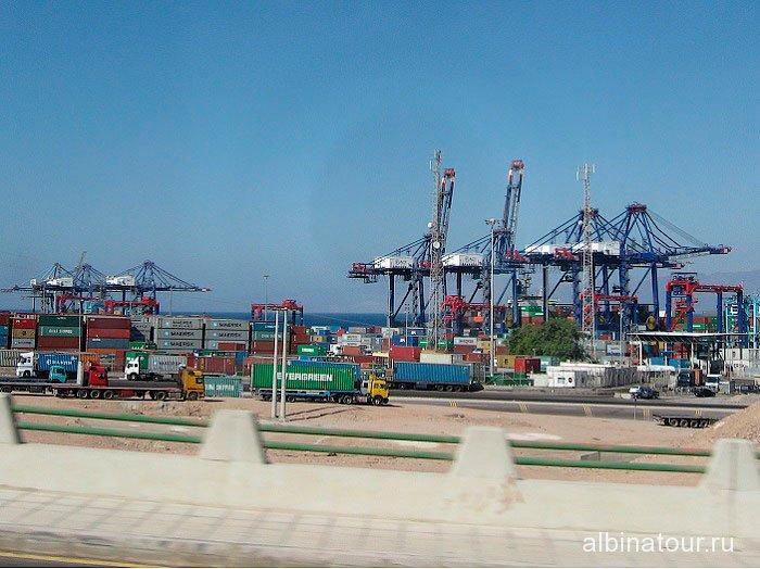 Иордания грузовой порт Акаба