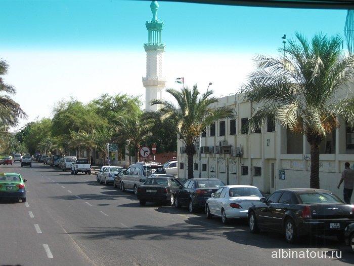 Иордания вид 3 города Акаба