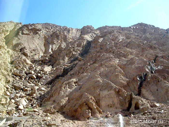 Горы Иордании по дороге в Петру