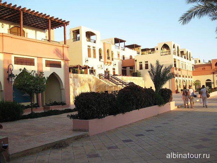 Иордания вид 2 города Акаба в районе причала