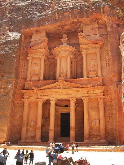 Иордания Петра  сокровищница Эль-Хазне