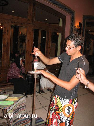 Египет   Таба   отель  Софитель ресторан Алладин 5