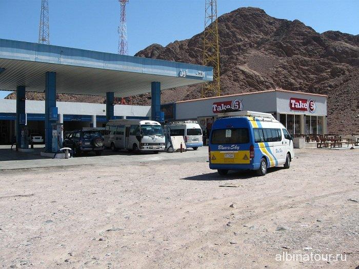 Египет остановка по дороге в Табу