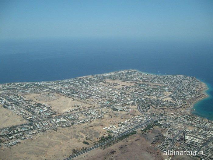 Египет Шарм-эль-Шейх вид с верху