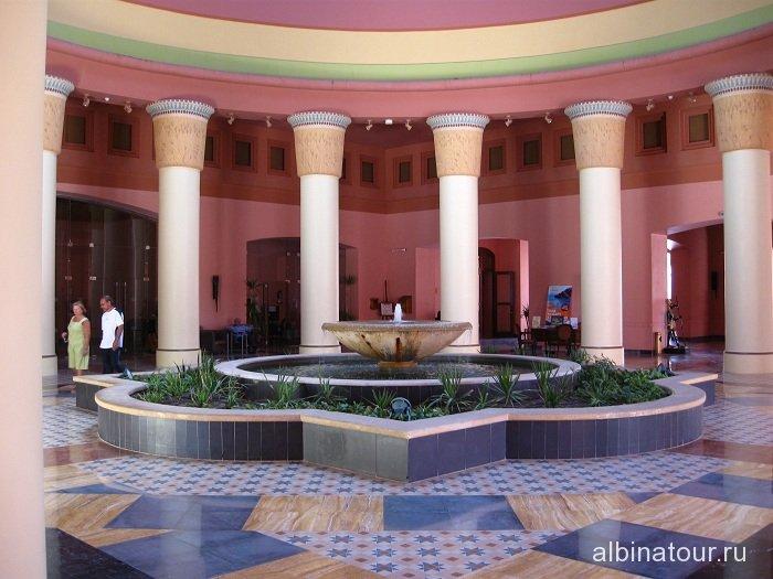 Египет   Таба   отель  Софитель  лобби