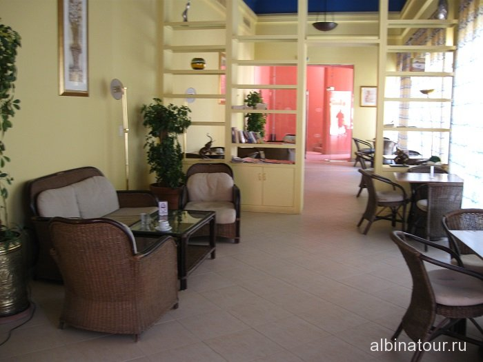 Египет   Таба   отель  Софитель библиотека