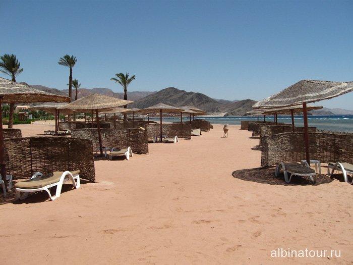 Египет Таба Софитель вид на пляж