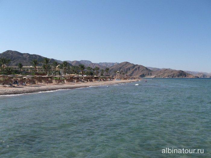 Египет Таба вид на отель Софитель Красное море