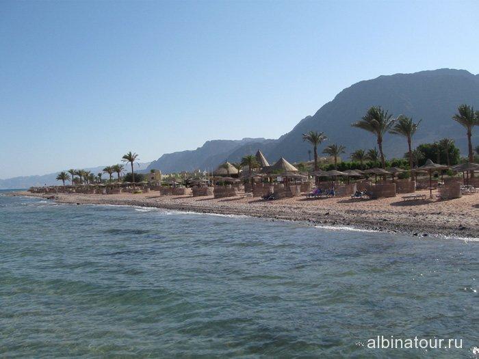 Египет Таба вид на отель Софитель Красное море 2