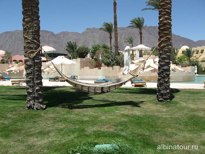 Египет Таба отель Софитель гамак на пляже