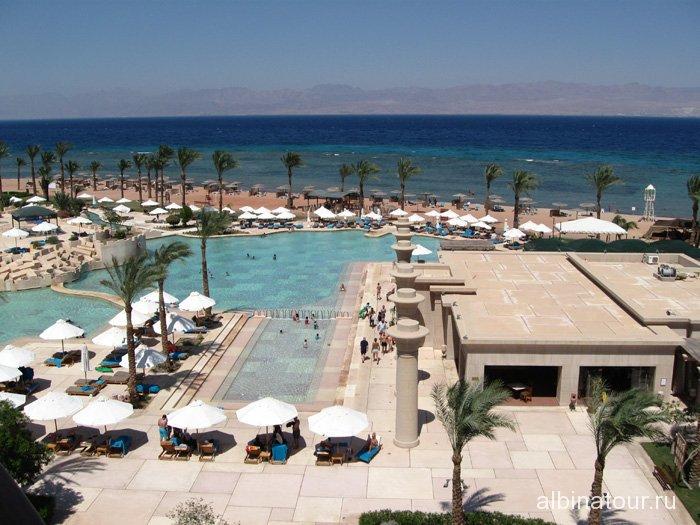 Египет Таба Софитель бассейны  и ресторан