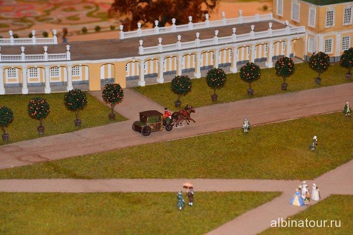 Россия Петербург исторический театр-макет «Петровская Акватория» 8