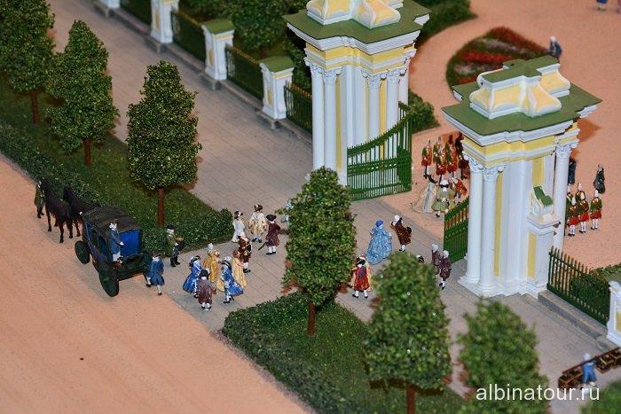 Россия Петербург исторический театр-макет «Петровская Акватория» 26