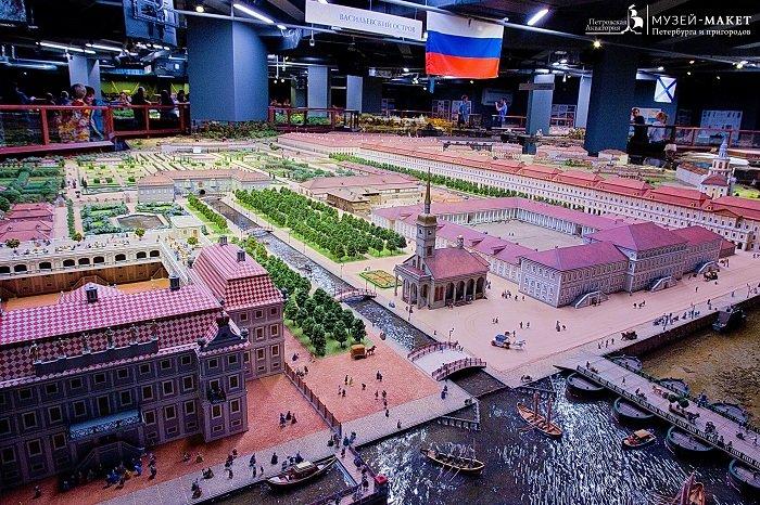 Фото Общий вид экспозиции Петровской Акватории в Санкт Петербурге