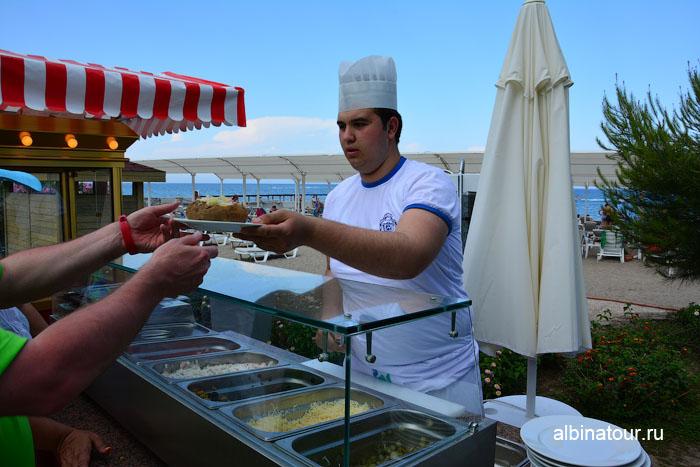 Турция Кемер отель Ма Бич приговление картофеля