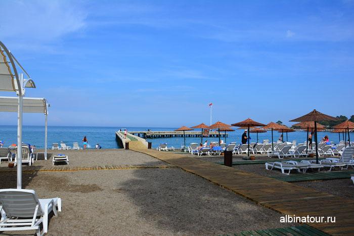 Турция Кемер отель Ma Biche пляж 8