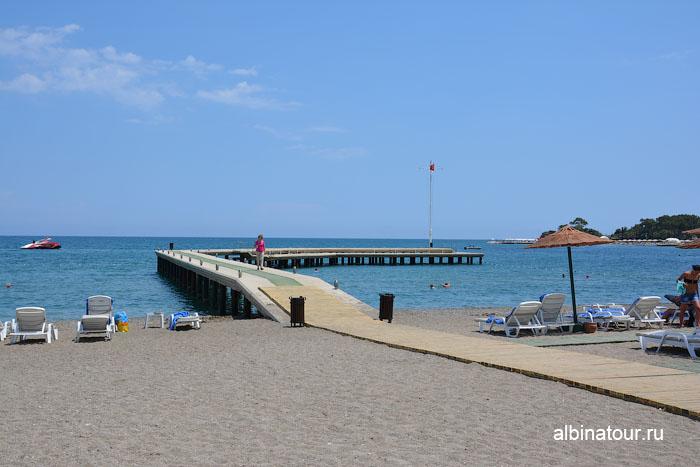 Турция Кемер отель Ma Biche пляж 11