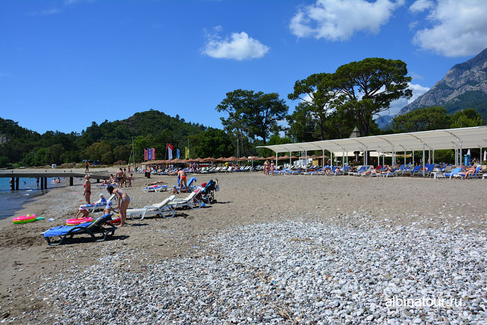 Турция Кемер отель Ma Biche пляж 16