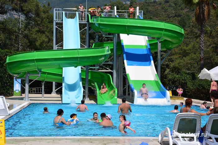 Турция Кемер отель Ma Biche аквапарк 24