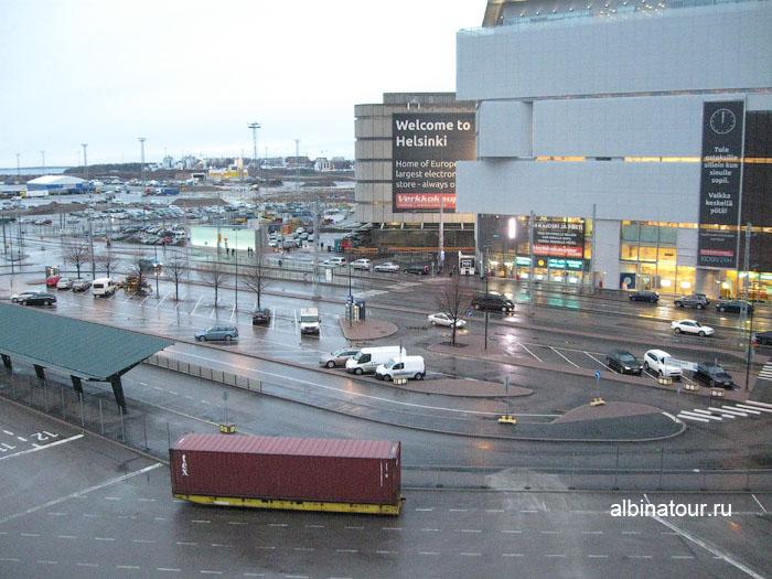 Финляндия Хельсинки западный терминал