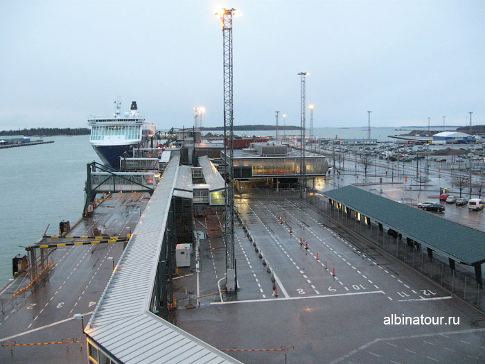 Финляндия Хельсинки западный терминал 2