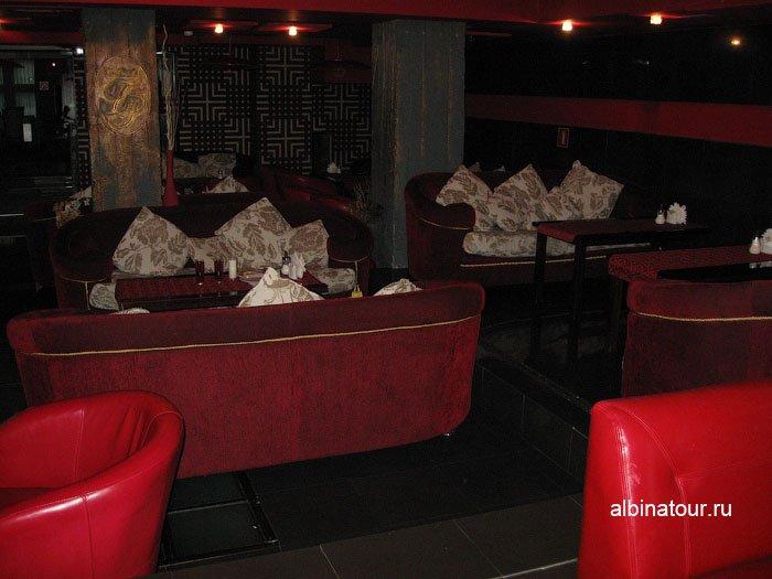 Россия  Калининград лобби бар отеля Триумф Палас 5