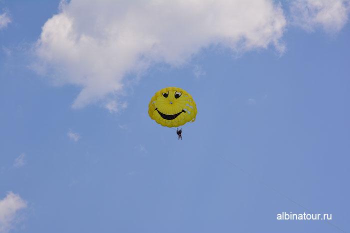 Турция Кемер отель Ма Бич  полет на парашюте 3