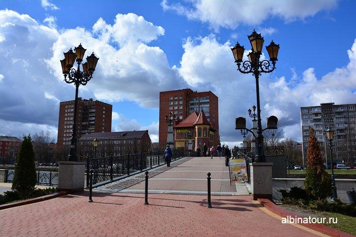 Россия Калининград  юбилейный мост 1