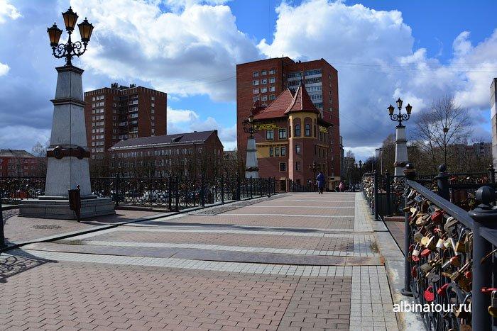 Россия Калининград  юбилейный мост 2