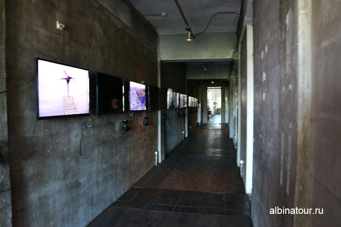Россия Санкт-Петербург лофт проект этажи Серый коридор