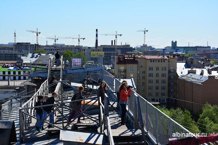 Россия Санкт-Петербург лофт проект этажи крыша 7